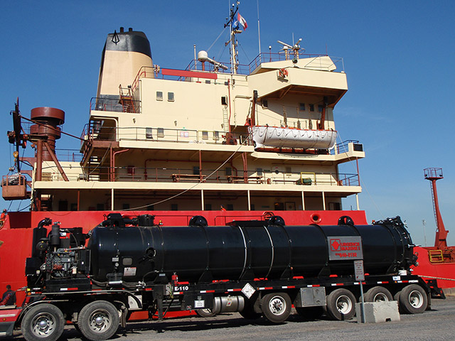 Urgence Marine sludges slops